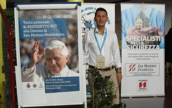 San Marino Sicurezza videosorveglianza Papa Benedetto XVI