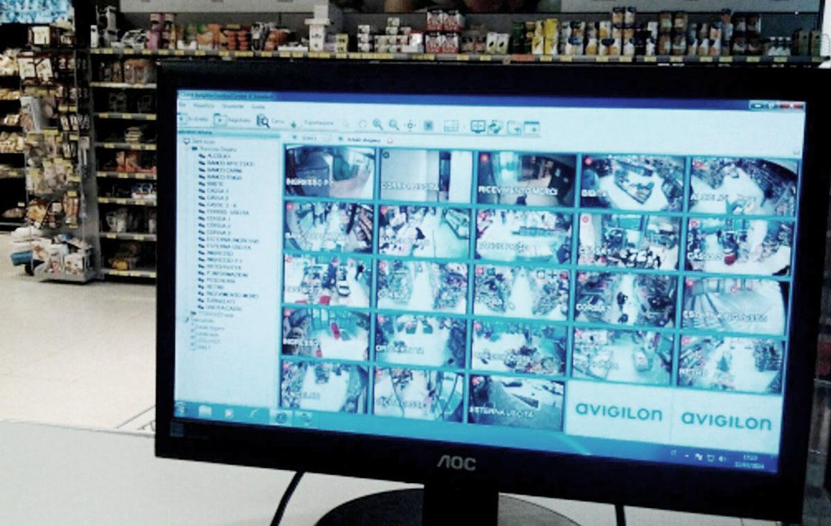 Videosorveglianza negozio